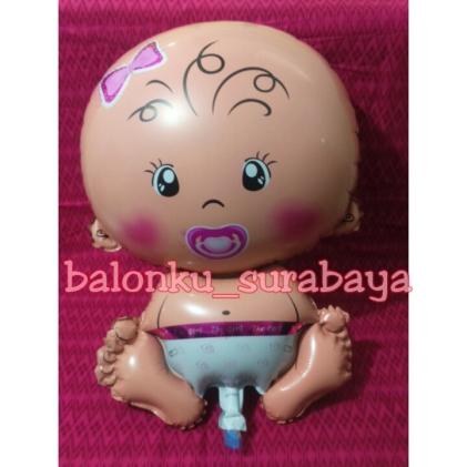 balon foil baby