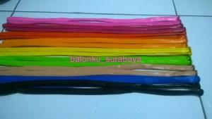 balon twist/balon pentil pelangi