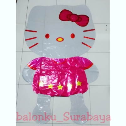 Balon Fol Hello kitty jumbo