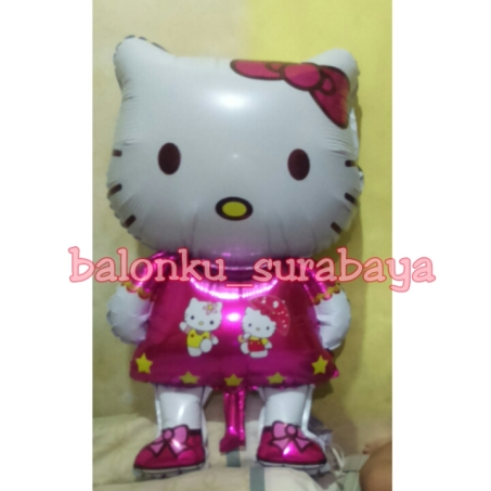 foil hello kitty 80 cm