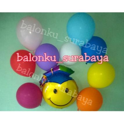 balon foil graduation