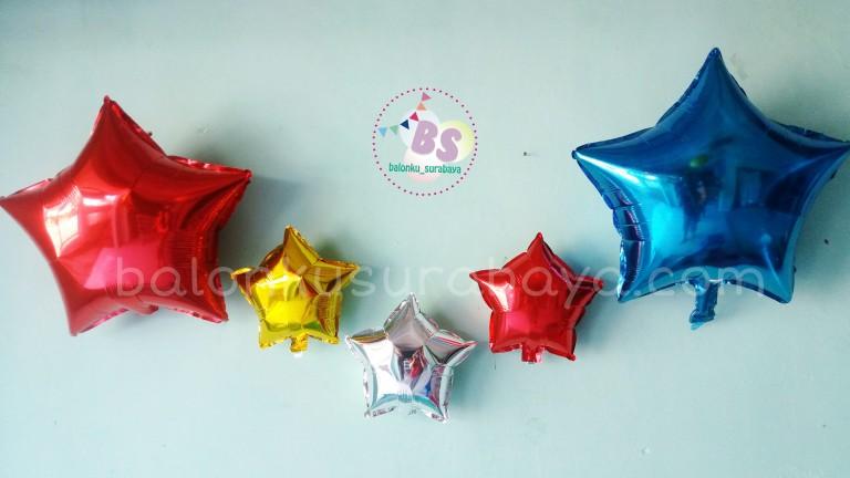 balon bintang