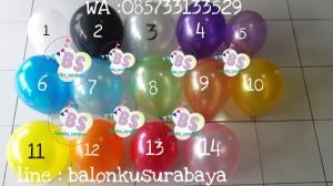 Jual Balon Latex Doff, Jual Balon latex, Jual Balon Metalik, Dekorasi Balon, Balon Sablon, Balon Custom