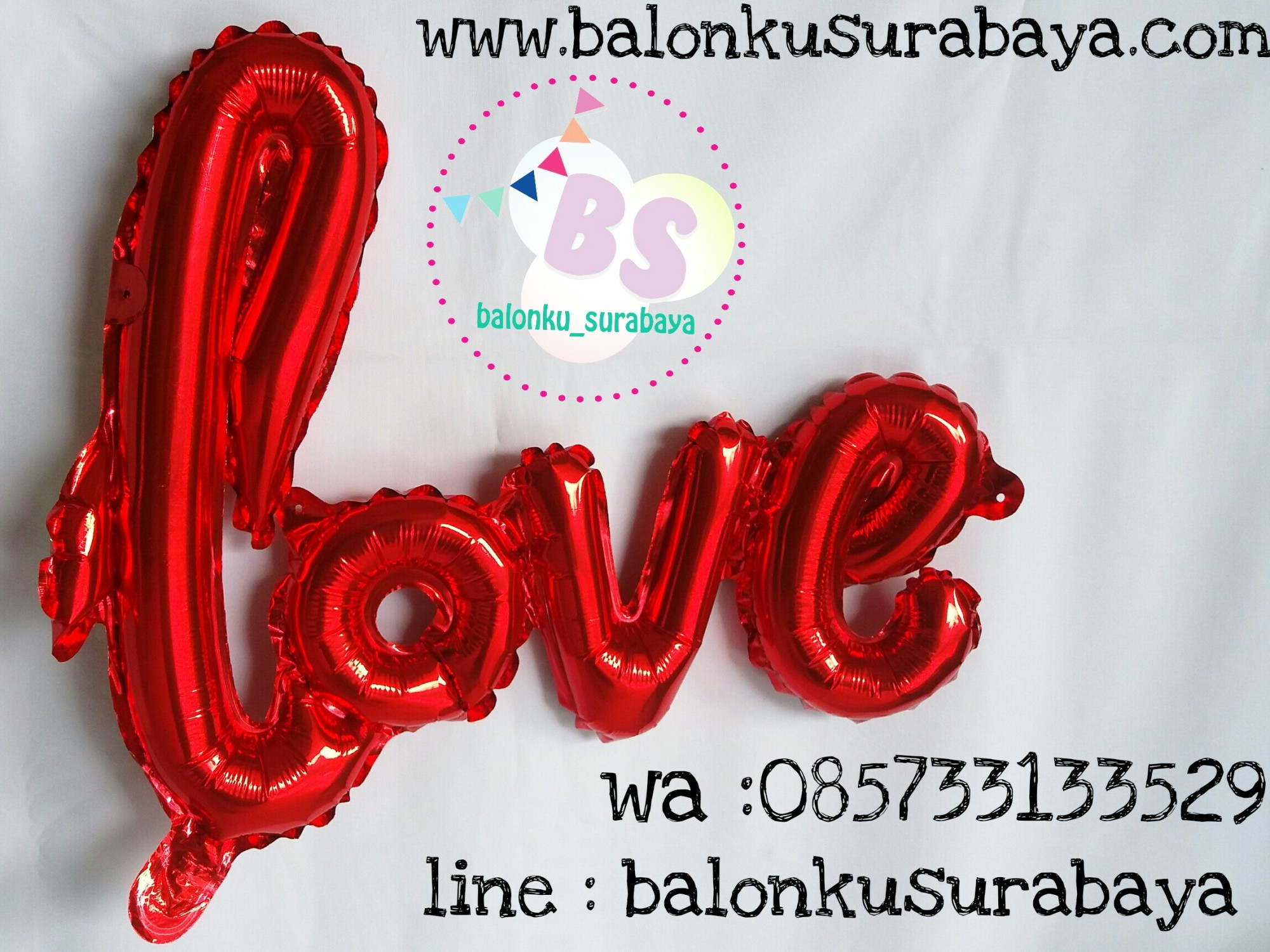 balon foil love letter, balon doff, balon latex doff, balon ulang tahun, balon dekorasi, balon foil, balon metalik, balon twist, balon latex, balon huruf, balon angka, supplier balon, dekorasi balon, sablon balon, confetti, bendera ulang tahun, balon LED, lampion terbang
