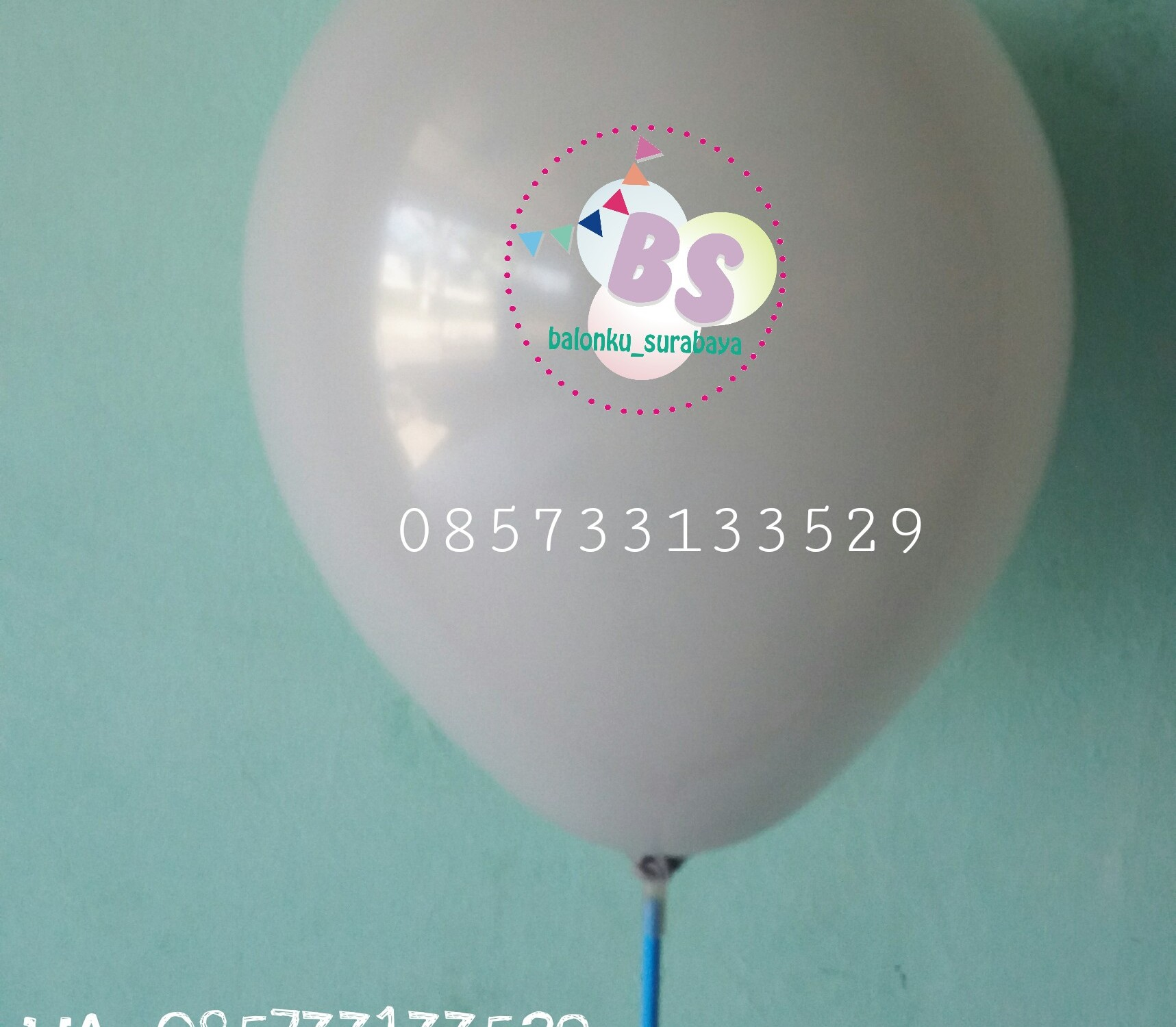 balon warna abu - abu, balon latex, balon adalima, balon doff, balon metalik