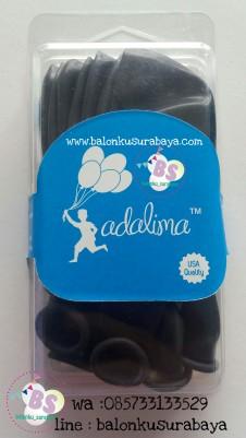 balon latex hitam, balon hitam, balon adalima, balon dekorasi