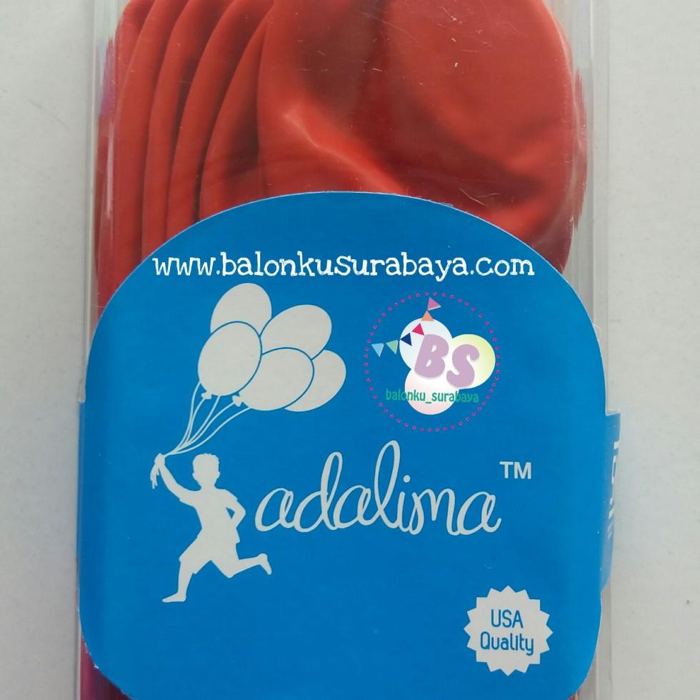 balon latex, balon warna merah, balon tebal, balon dekorasi, suplier balon