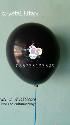 balon hitam, balon latex, balon doff, balon metalik, balon adalima