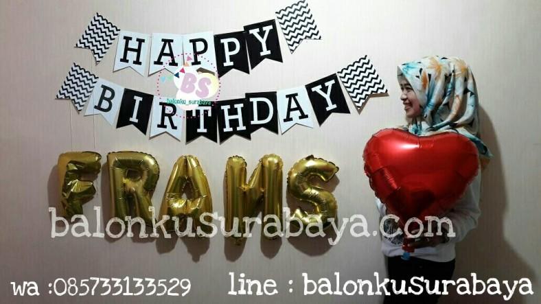 dekorasi ulang tahun pacar, dekorasi ulang tahun suami, dekorasi ulang tahun anak