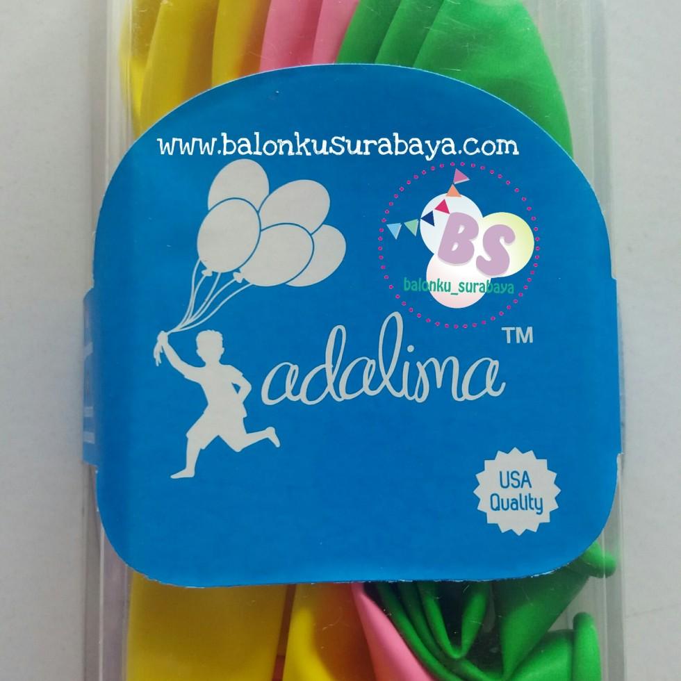 balon latex warna- warni, balon adalima, balon doff, balon metalik
