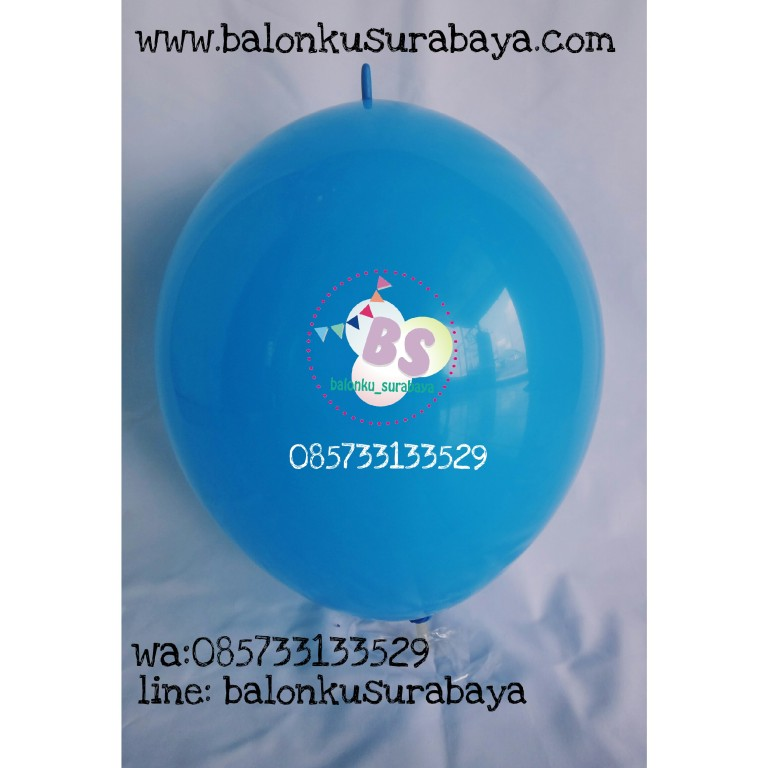 balon latex ekor, bolon ekor, balon latex link