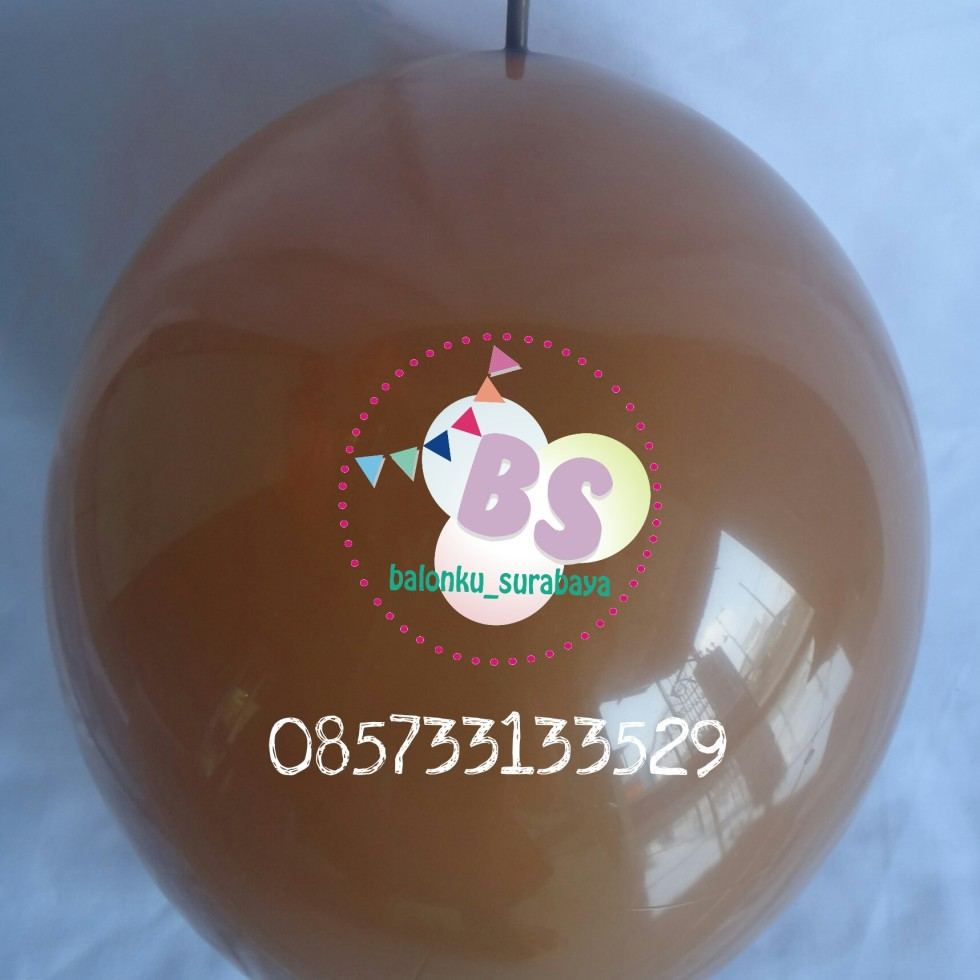 balon latex ekor, balon latex link, balon ekor