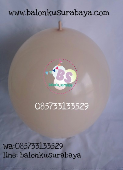 balon latex ekor, balon link, balon ekor