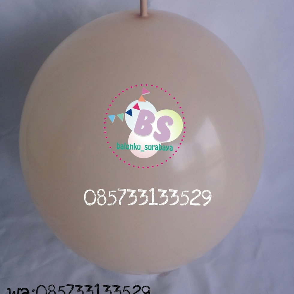 balon latex ekor, balon link, balon ekor