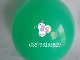 balon latex link, balon link, balon latex ekor, balon ekor, balon ekor hijau mint