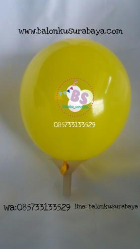 balon latex 5 inch, balon 5 inchi, balon latex kecil, balon kuning