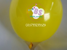 balon latex 5 inch, balon 5 inchi, balon latex kecil, balon kuning