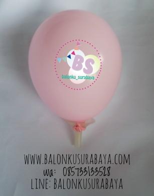 Balon Latex 5 inch Pink, distributor balon, balon promosi, balon dekorasi