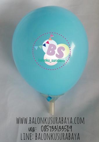 Balon Latex 5 Inch Biru Muda, distributor balon, dekorasi balon, balon promosi