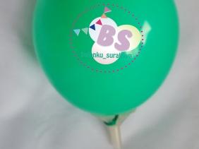 Balon Latex 5 Inch Hijau Mint, distributor balon, balon dekorasi, balon promosi