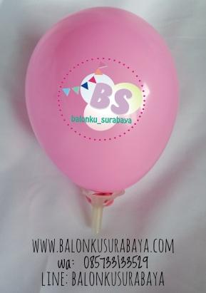 balon 5 inch pink rose, balon latex, balon promosi, distributor balon, balon dekorasi
