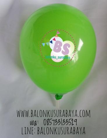 Balon Latex 5 Inch Hijau Muda, balon latex, balon dekorasi, balon promosi, distributor balon