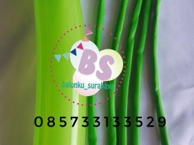 Balon Panjang, Balon Twist, Balon Pentil Warna Hijau Lime, distributor balon, party planner, balon promosi, dekorasi balon