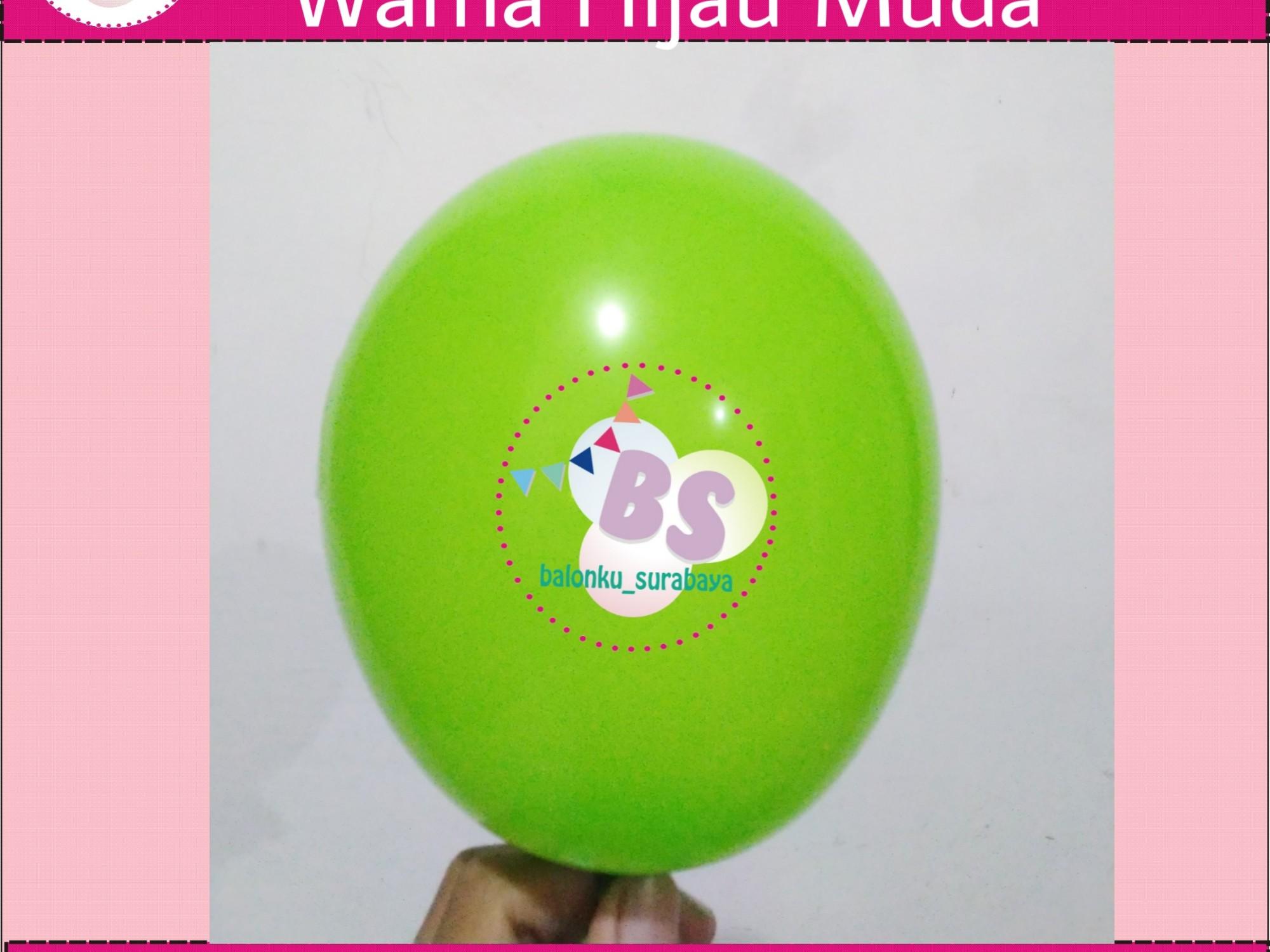 jual balon latex 5 inch Hijau Muda, BAlon Gas,Bunga dekorasi,Rangkaian bunga artificial, Buket bunga, buket bunga mawar, harga buket bunga,Balon sablon, balon Printing, balon promosi, , Perlengkapan ulang tahun, Balon latex , balon doff, balon latex, balon doff merah, balon natal, balon agustusan, balon dekorasi, balonku Surabaya, 085733133529