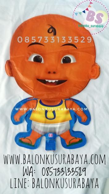 Balon Foil, Balon foil karakter Upin Ipin, dekorasi balon, distributor balon, balon print, balon promosi, balon gas