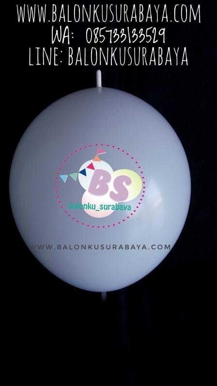 Balon Latex ekor, balon ekor, balon sambung, balon link, distributor balon, sablon balon, balon gas, balon promosi