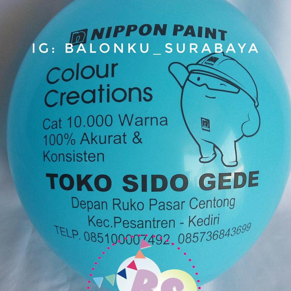 Balon Print, Balon Sablon, Balon Promosi, Balon Sablon Perusahaan, Distributor Balon, Gudang Balon, Vendor balon