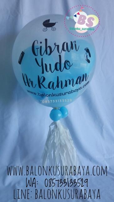 Balon Custom, Balon Printing, Parcel Balon, Parcel Kelahiran Bayi, Kado Kelahiran bayi, Party Planner, Balon Sablon, Balon Promosi