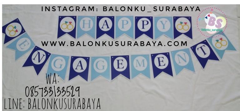 Bunting Flag Custom Nama, Bunting flag Aqiqah, party planner, dekorasi balon, distributor balon, balon print, balon promosi, balon gas