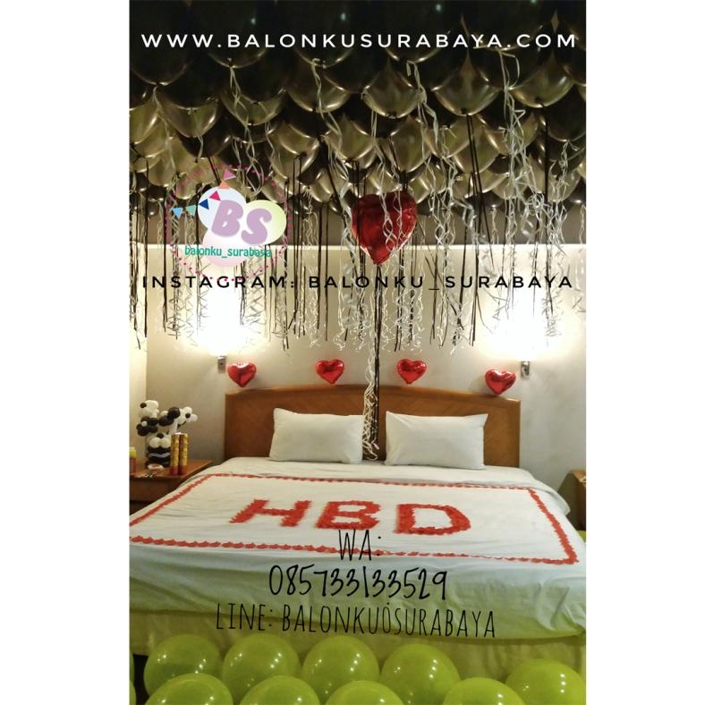 Dekorasi kamar ulang tahun simple dekorasi ultah ulang tahun for Dekor kamar hotel
