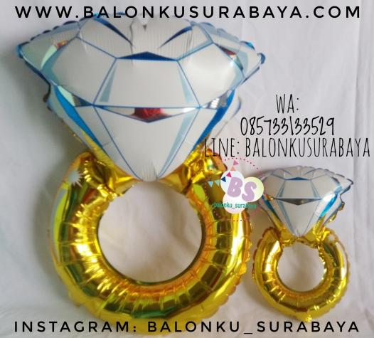 Jual Balon Foil Cincin, Jual balon foil, Jual balon latex, Balon sablon, Balon Custom, Dekorasi balon, Balon Promosi, Balon gas surabaya