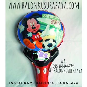 Balon Tongkat Karakter party planner, dekorasi balon, distributor balon, balon print, balon promosi, balon gas, balon sablon