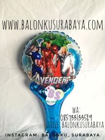 Jual Balon Tongkat Karakter, party planner, dekorasi balon, distributor balon, balon print, balon promosi, balon gas, balon sablon
