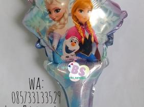 Jual Balon tongkat karakter Frozen, Jual balon foil, Jual balon latex, Balon sablon, Balon Custom, Dekorasi balon, Balon Promosi, Balon gas surabaya