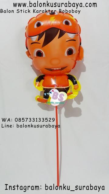 Jual Balon Stick Karakter Boboboy, Jual Balon tongkat karakter, Jual balon foil, Jual balon latex, Balon sablon, Balon Custom, Dekorasi balon, Balon Promosi, Balon gas surabaya