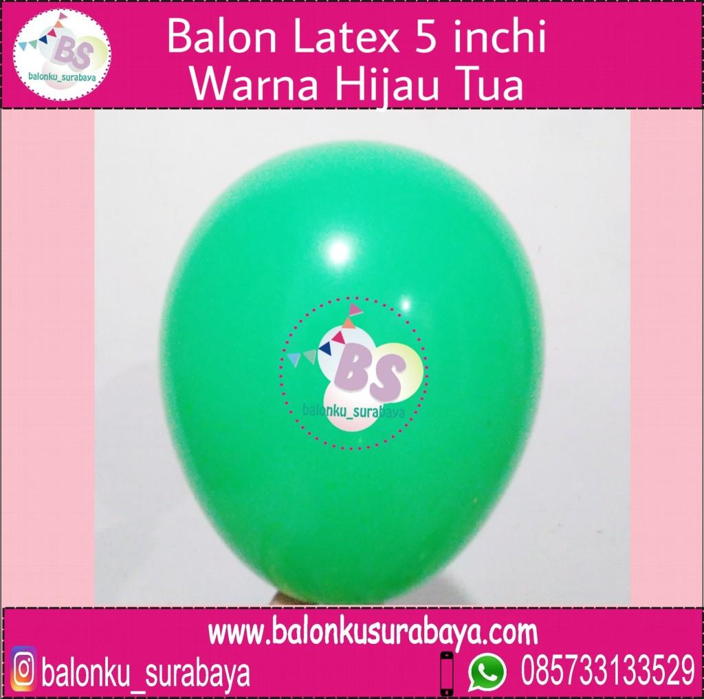 jual balon latex 5 inch hijau tua, BAlon Gas,Bunga dekorasi,Rangkaian bunga artificial, Buket bunga, buket bunga mawar, harga buket bunga,Balon sablon, balon Printing, balon promosi, , Perlengkapan ulang tahun, Balon latex , balon doff, balon latex, balon doff merah, balon natal, balon agustusan, balon dekorasi, balonku Surabaya, 085733133529