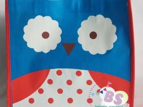 Jual Tas Ulang Tahun Karakter Owl, Jual Balon tongkat karakter, Jual balon foil, Jual balon latex, Balon sablon, Balon Custom, Dekorasi balon, Balon Promosi, Balon gas surabaya