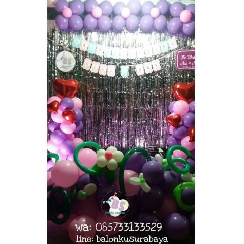 dekorasi balon photobooth, dekorasi tedak siten, Jual Balon Sablon, Jual Balon Promosi, Dekorasi Ulang Tahun Anak Sederhana, Jual Balon tongkat karakter, Jual balon foil, Jual balon latex, Balon sablon, Balon Custom, Dekorasi balon, Balon Promosi, Balon gas surabaya
