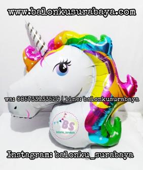 baloon unicorn, balon karakter, balon little pony, balon tepuk, balon sablon, dekorasi balon, 085733133529