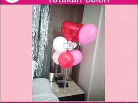 stand balon, balon sablon, balon tepuk,stick balon, dekorasi kamar hotel, dekorasi ulang tahun, parcel balon