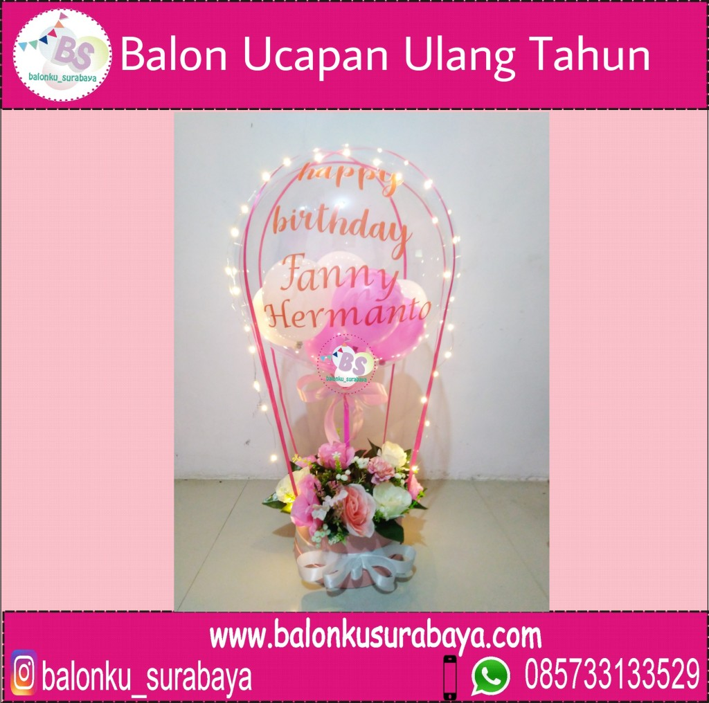 Balon Ucapan Ulang Tahun – Balonku Surabaya