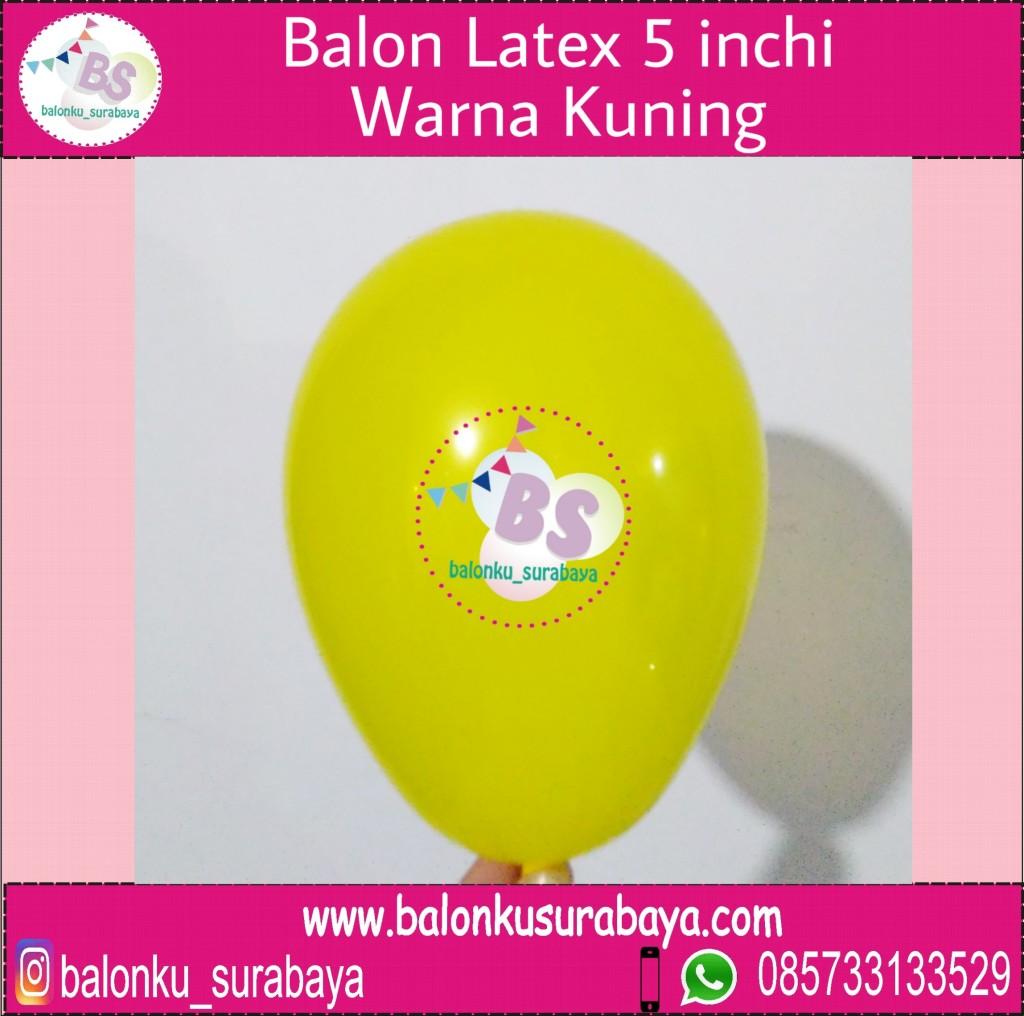 jual balon latex 5 inch kuning, BAlon Gas,Bunga dekorasi,Rangkaian bunga artificial, Buket bunga, buket bunga mawar, harga buket bunga,Balon sablon, balon Printing, balon promosi, , Perlengkapan ulang tahun, Balon latex , balon doff, balon latex, balon doff merah, balon natal, balon agustusan, balon dekorasi, balonku Surabaya, 085733133529