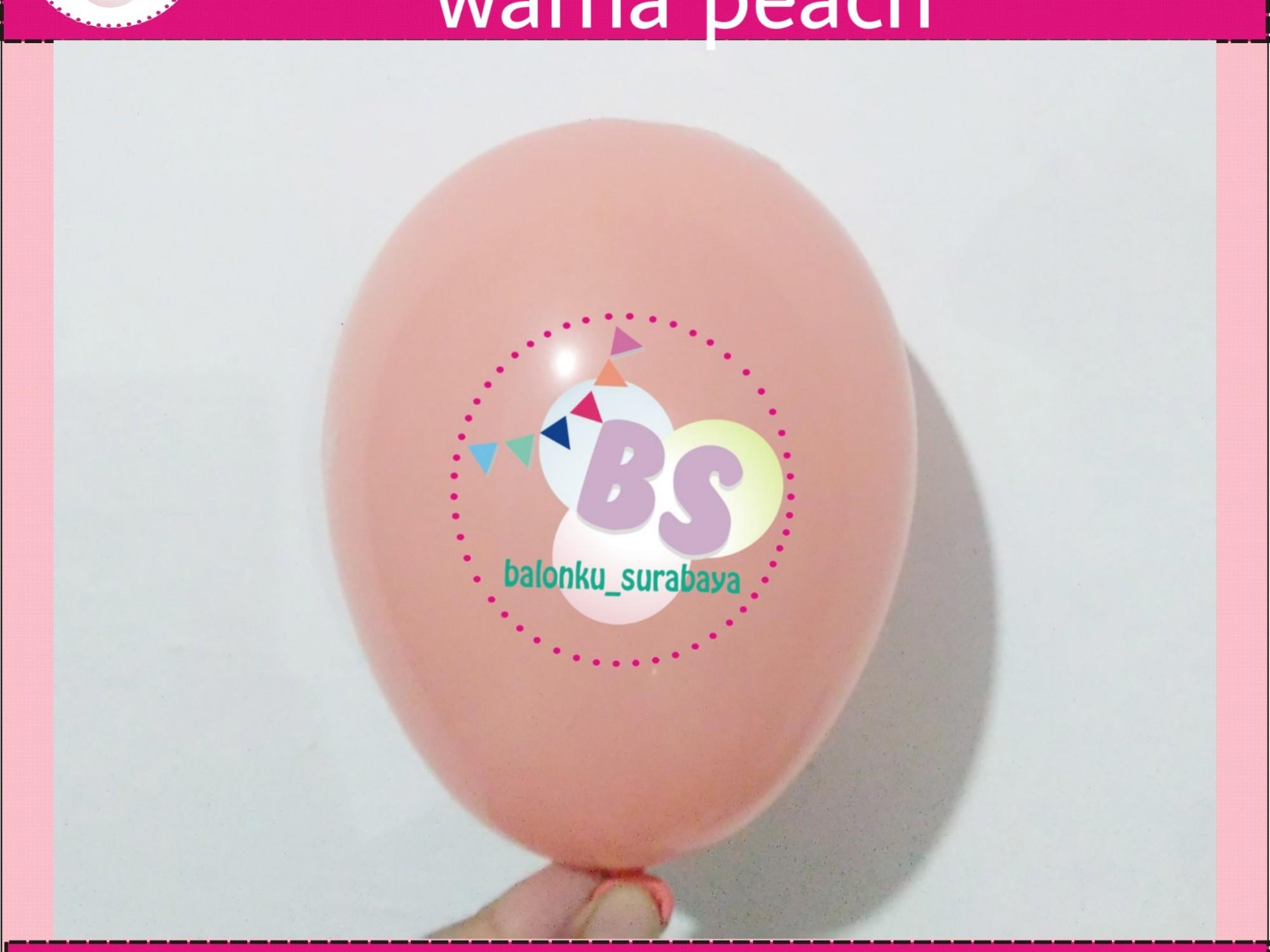 jual balon latex 5 inch peach, BAlon Gas,Bunga dekorasi,Rangkaian bunga artificial, Buket bunga, buket bunga mawar, harga buket bunga,Balon sablon, balon Printing, balon promosi, , Perlengkapan ulang tahun, Balon latex , balon doff, balon latex, balon doff merah, balon natal, balon agustusan, balon dekorasi, balonku Surabaya, 085733133529