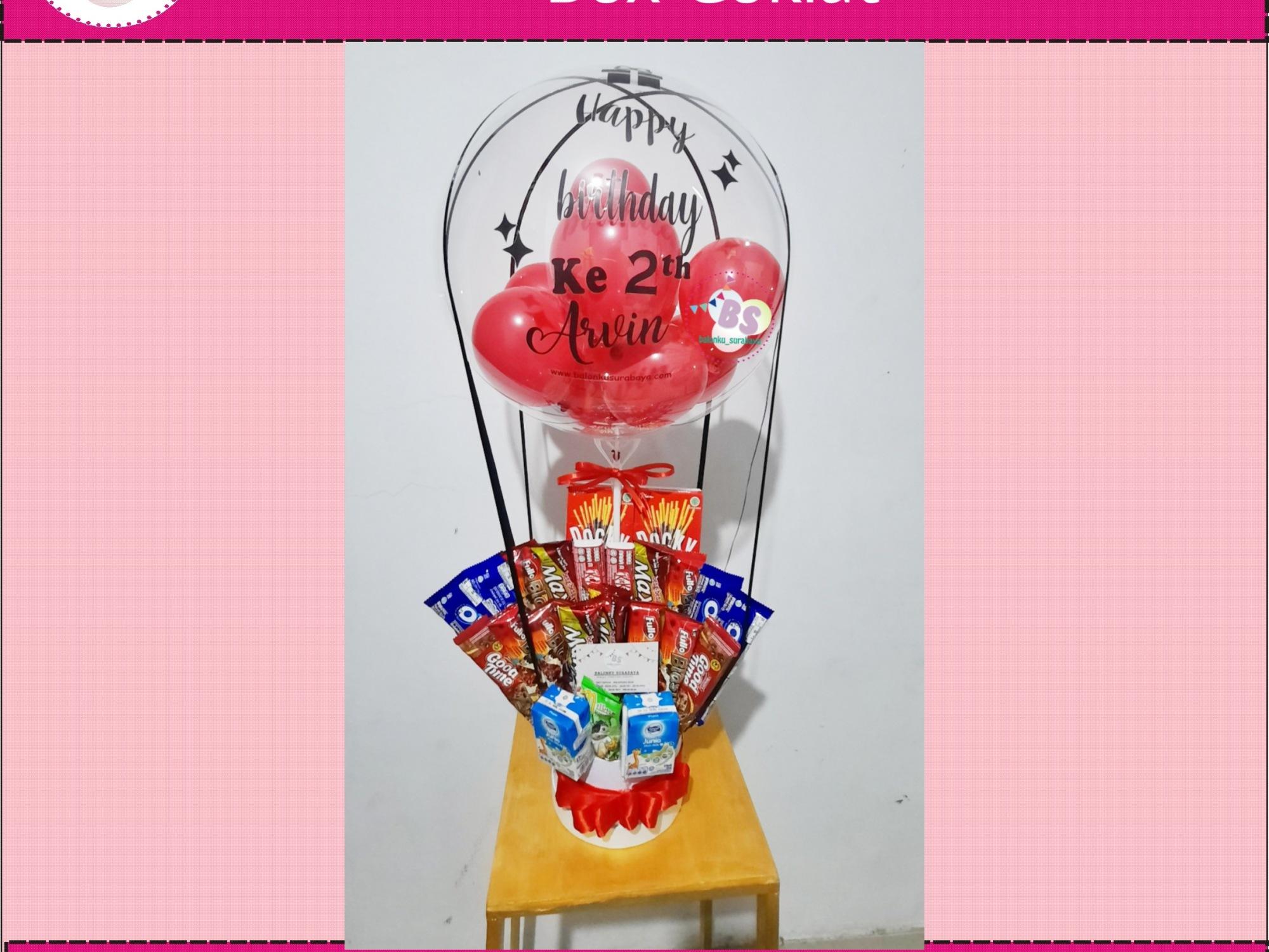 baln ucapan box coklat, jual balon latex twist hijau emerald, BAlon Gas,Bunga dekorasi,Rangkaian bunga artificial, Buket bunga, buket bunga mawar, harga buket bunga,Balon sablon, balon Printing, balon promosi, Perlengkapan ulang tahun, Balon latex , balon doff, balon natal, balon agustusan, balon dekorasi, balonku Surabaya, 085733133529