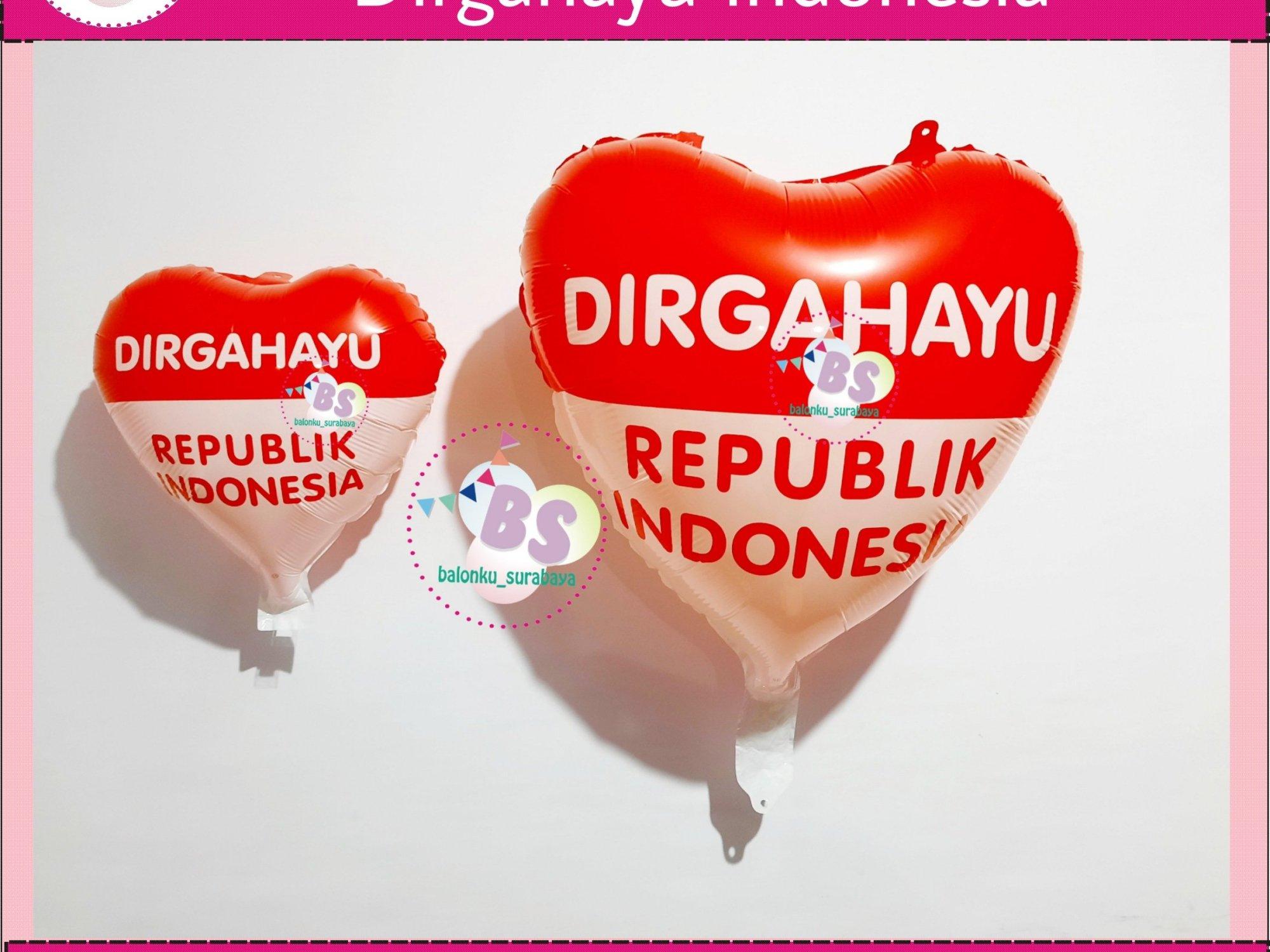 balon dirgahayu indonesia love, balon dirgahayu indonesia bulat, tulisan dinding dirgahayu indonesia, garland balon, parcel balon ucapan, parcel balon ucapan, parcel balon ucapan warna pink, balon bentuk bunga, standing balon custom, balon ucapan ulang tahun anak, balon ucapan ulang tahun warna merah, balon ucapan ulang tahun merah, balon ucapan ulang tahun anak balon ucapan warna peach, baln ucapan box coklat, jual balon latex twist hijau emerald, BAlon Gas,Bunga dekorasi,Rangkaian bunga artificial, Buket bunga, buket bunga mawar, harga buket bunga,Balon sablon, balon Printing, balon promosi, Perlengkapan ulang tahun, Balon latex , balon doff, balon natal, balon agustusan, balon dekorasi, balonku Surabaya, 085733133529