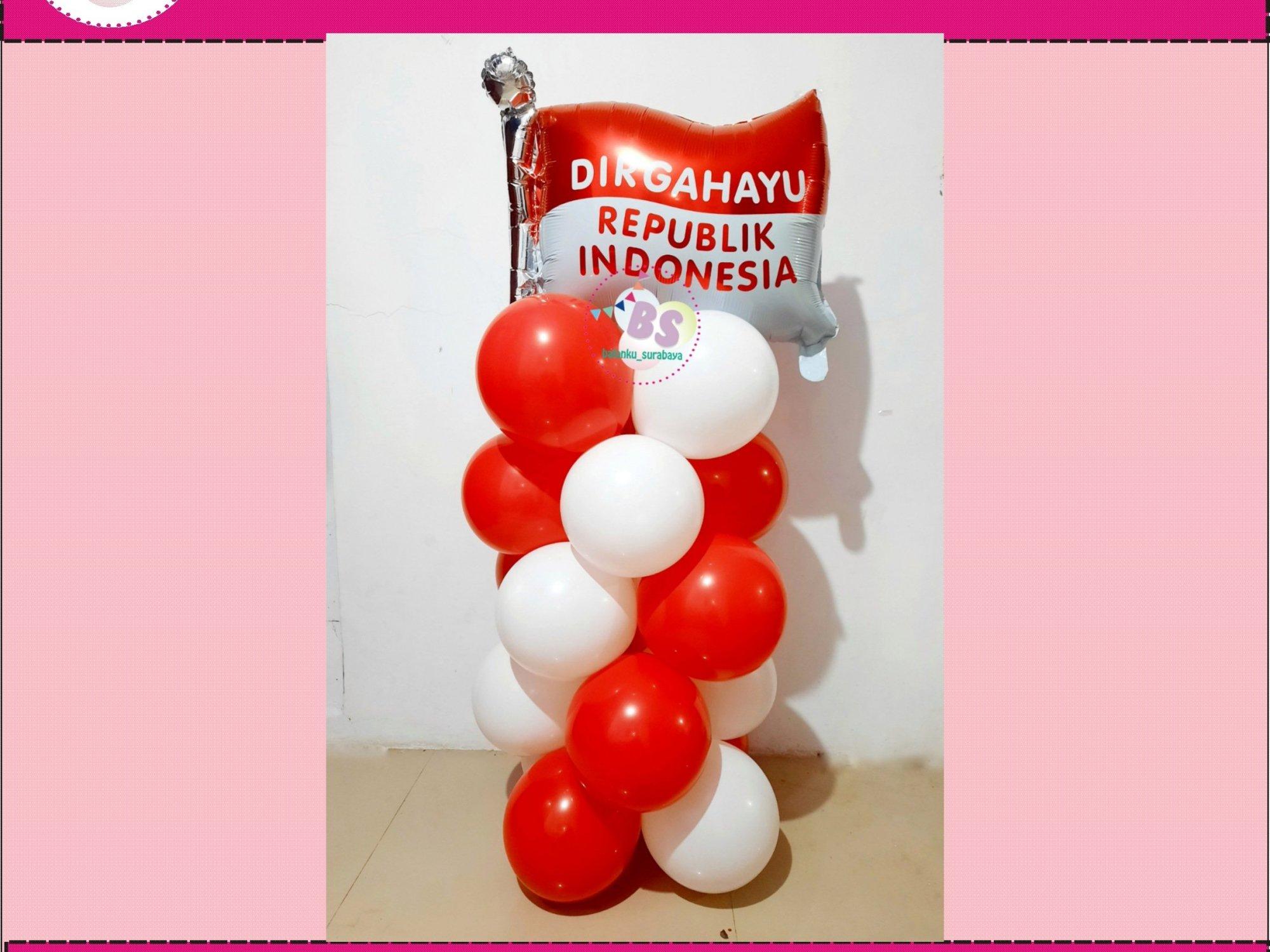 standing balon dirgahayu indonesia, balon dirgahayu indonesia love, balon dirgahayu indonesia bulat, tulisan dinding dirgahayu indonesia, garland balon, parcel balon ucapan, parcel balon ucapan, parcel balon ucapan warna pink, balon bentuk bunga, standing balon custom, balon ucapan ulang tahun anak, balon ucapan ulang tahun warna merah, balon ucapan ulang tahun merah, balon ucapan ulang tahun anak balon ucapan warna peach, baln ucapan box coklat, jual balon latex twist hijau emerald, BAlon Gas,Bunga dekorasi,Rangkaian bunga artificial, Buket bunga, buket bunga mawar, harga buket bunga,Balon sablon, balon Printing, balon promosi, Perlengkapan ulang tahun, Balon latex , balon doff, balon natal, balon agustusan, balon dekorasi, balonku Surabaya, 085733133529